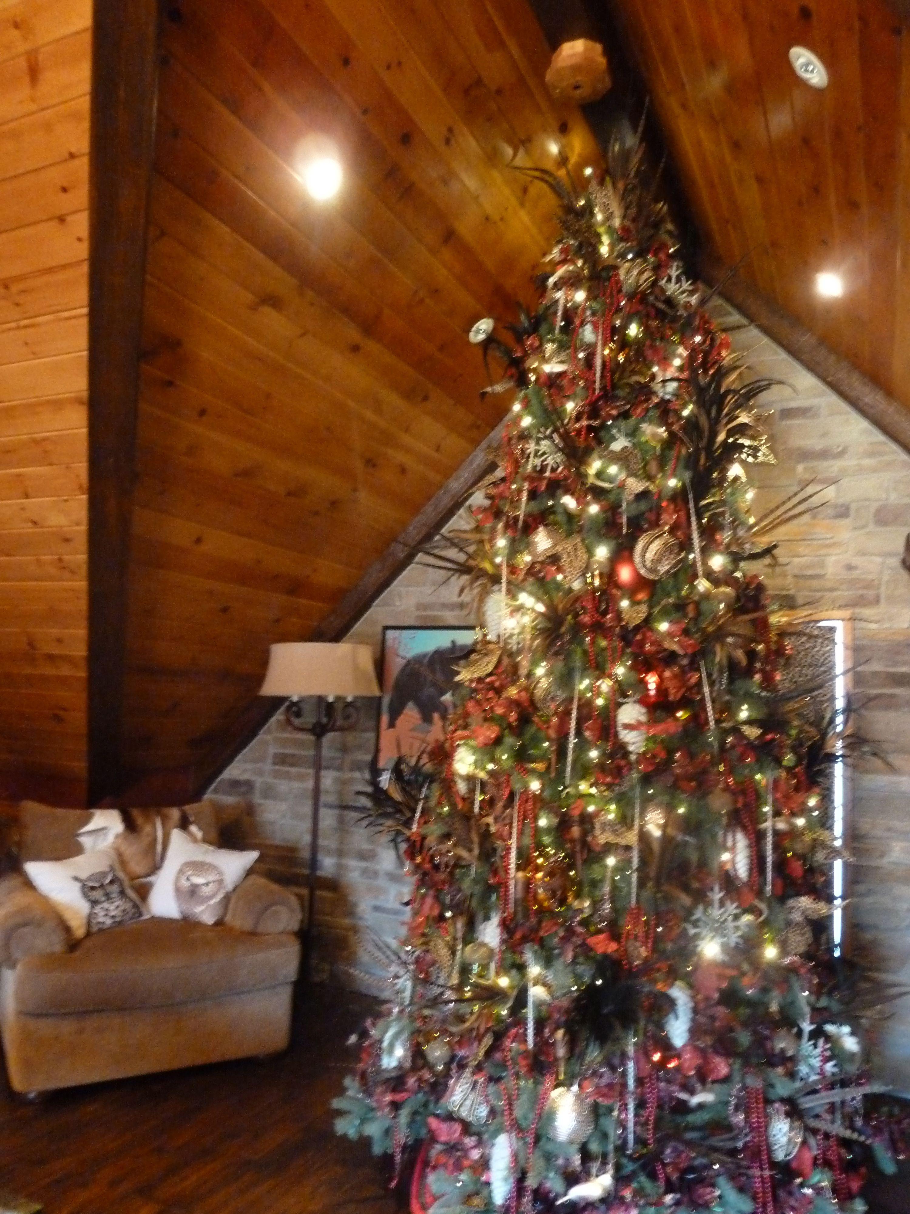 deer antler christmas tree topper