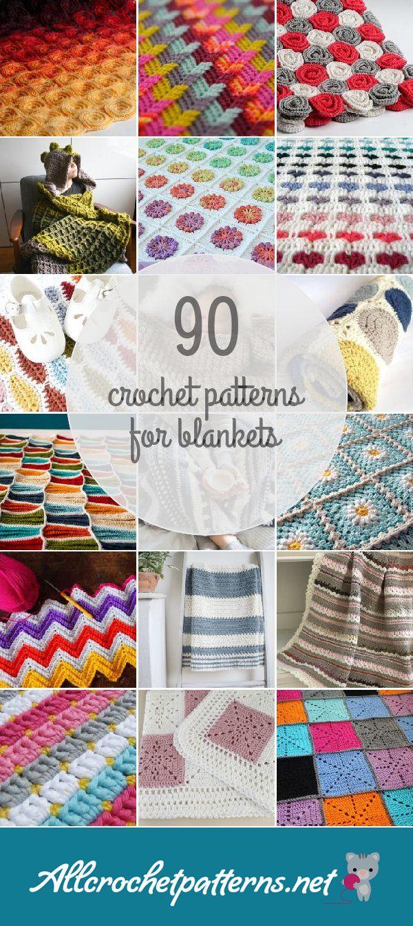 Crochet Patterns For Blankets   Amigurumis y mas   Pinterest ...