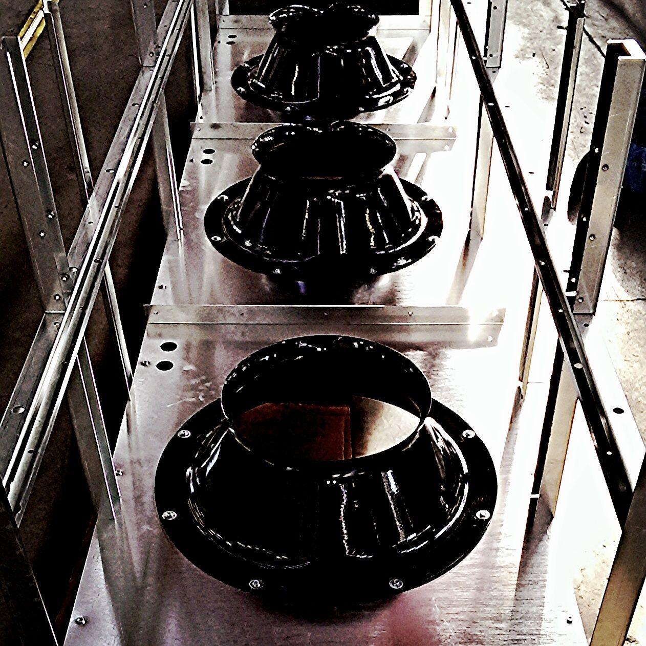 Fan cones for a highefficiency custom data center air