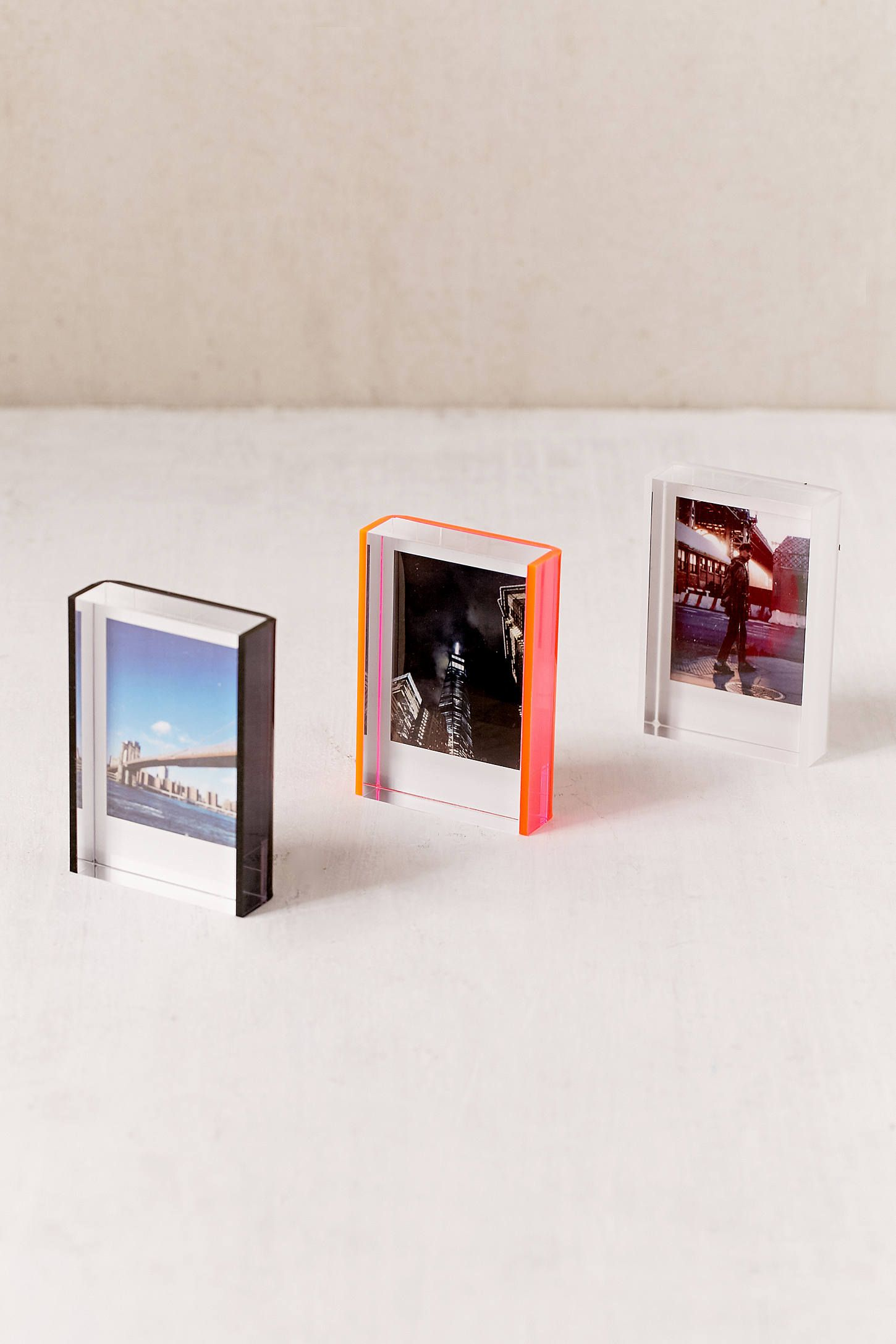 Mini Instax Acrylic Block Frame Modern Picture Frames Framing Photography Acrylic Frames