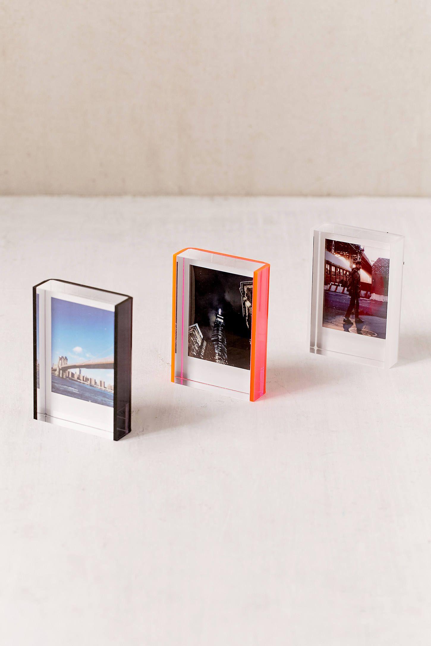 Mini Instax Acrylic Block Frame | Apartamento | Pinterest | Frame ...