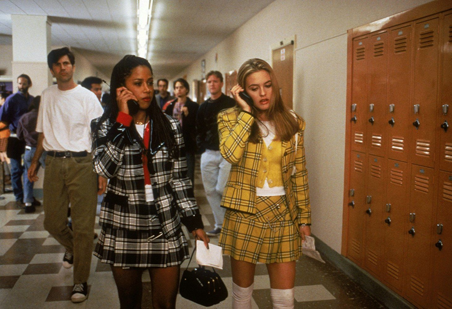 Alicia Silverstone and Stacey Dash in Clueless (1995