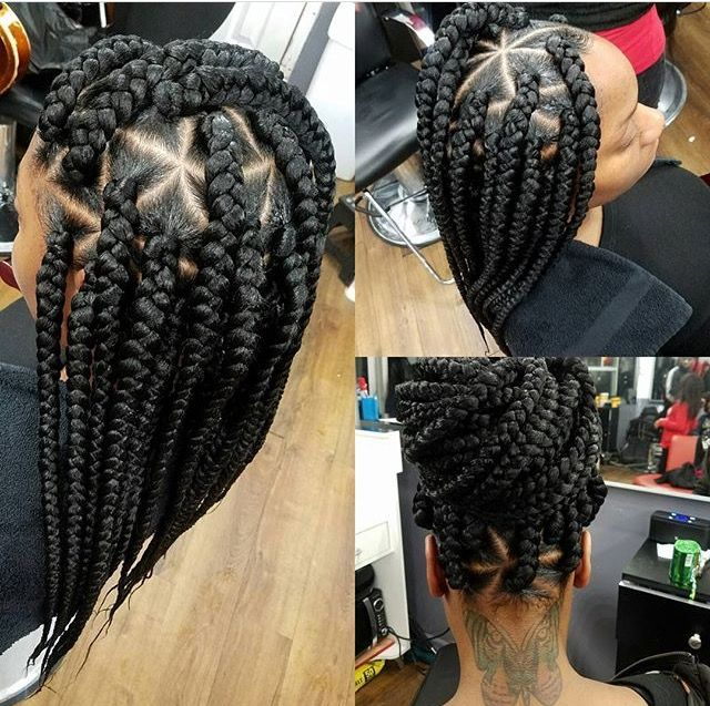 Box Braids Natural Hairstyles Protective Hairstyles