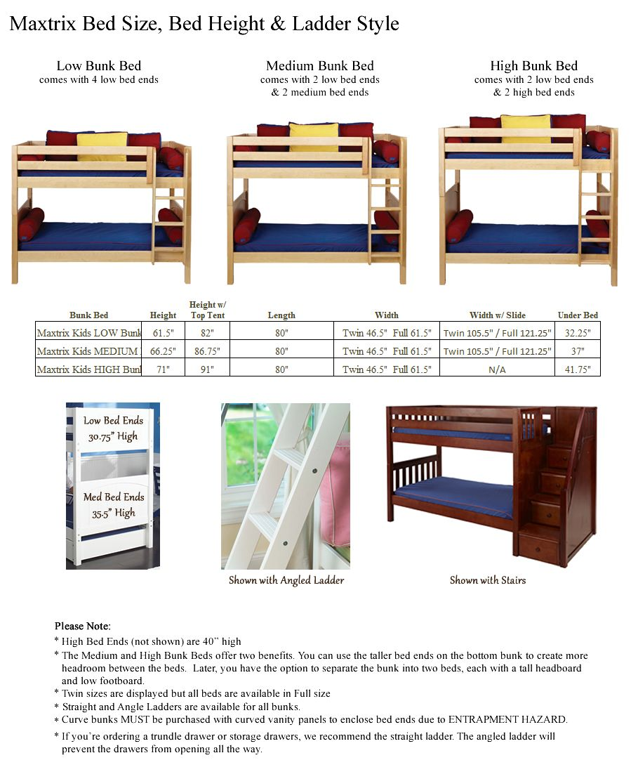 Bunk Bed Heights   Google Search