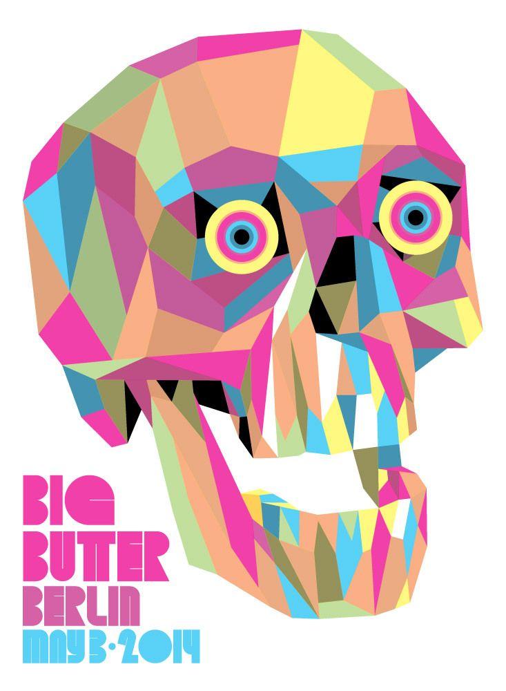Big Butter Berlin Skull Print