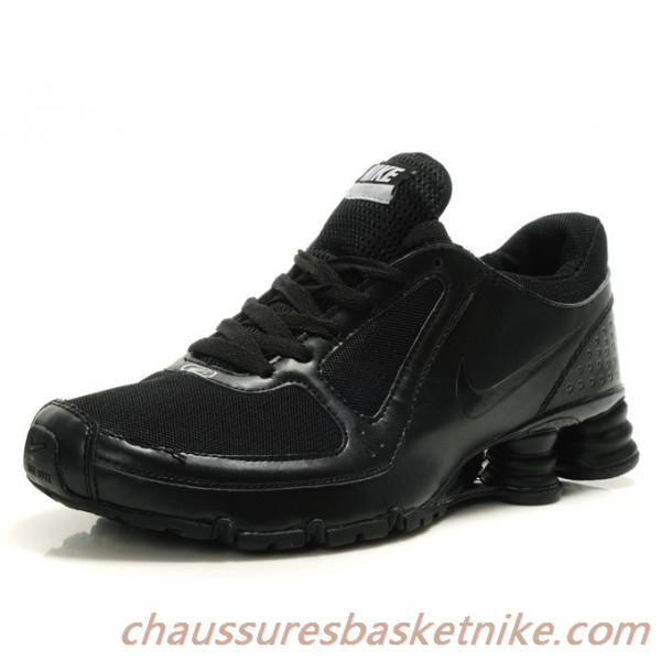 la meilleure attitude 60159 b7cd7 Nike Shox Turbo 10 Hommes Chaussures Running Tous Noir ...
