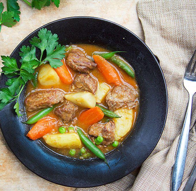 Lamb Stew With Spring Vegetables Recipe Lamb Stew Lamb Recipes Stew