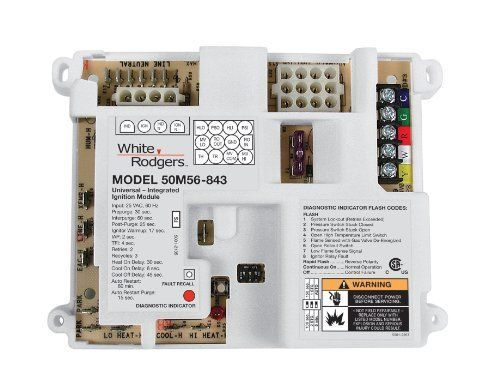 White Rodgers 50a55 289 Furnace Control Replaced By 50m56u 843 By White Rodgers 133 89 Universal Hot Sur Red Led Lights Home Thermostat Commercial Heating