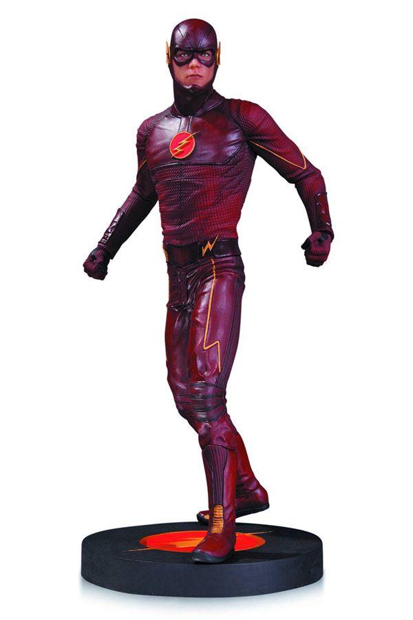 The Flash TV Series Statue