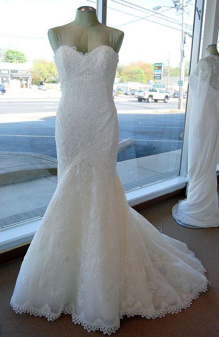 pronovias bella bridal gown delaware wedding dress store wilmington ...