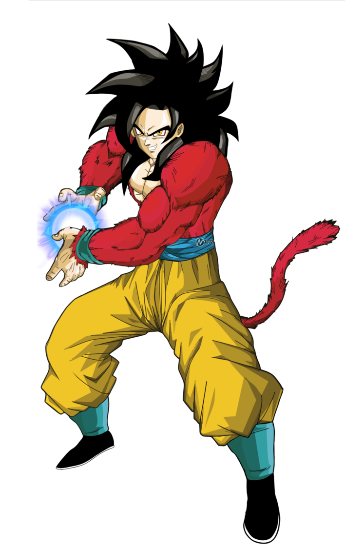Goku Ssj Fase 4 Disfraz De Goku Personajes De Goku Goku