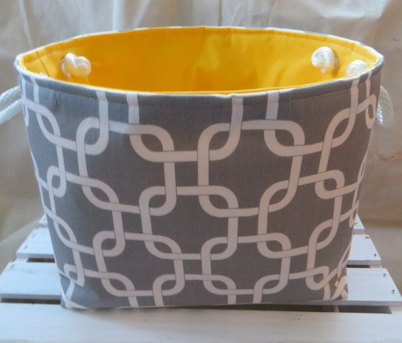 Fabric Organizer Storage Basket 12 X 9 X 10 By Divasintuition 46 00 Organize Fabric Storage Baskets Toy Storage