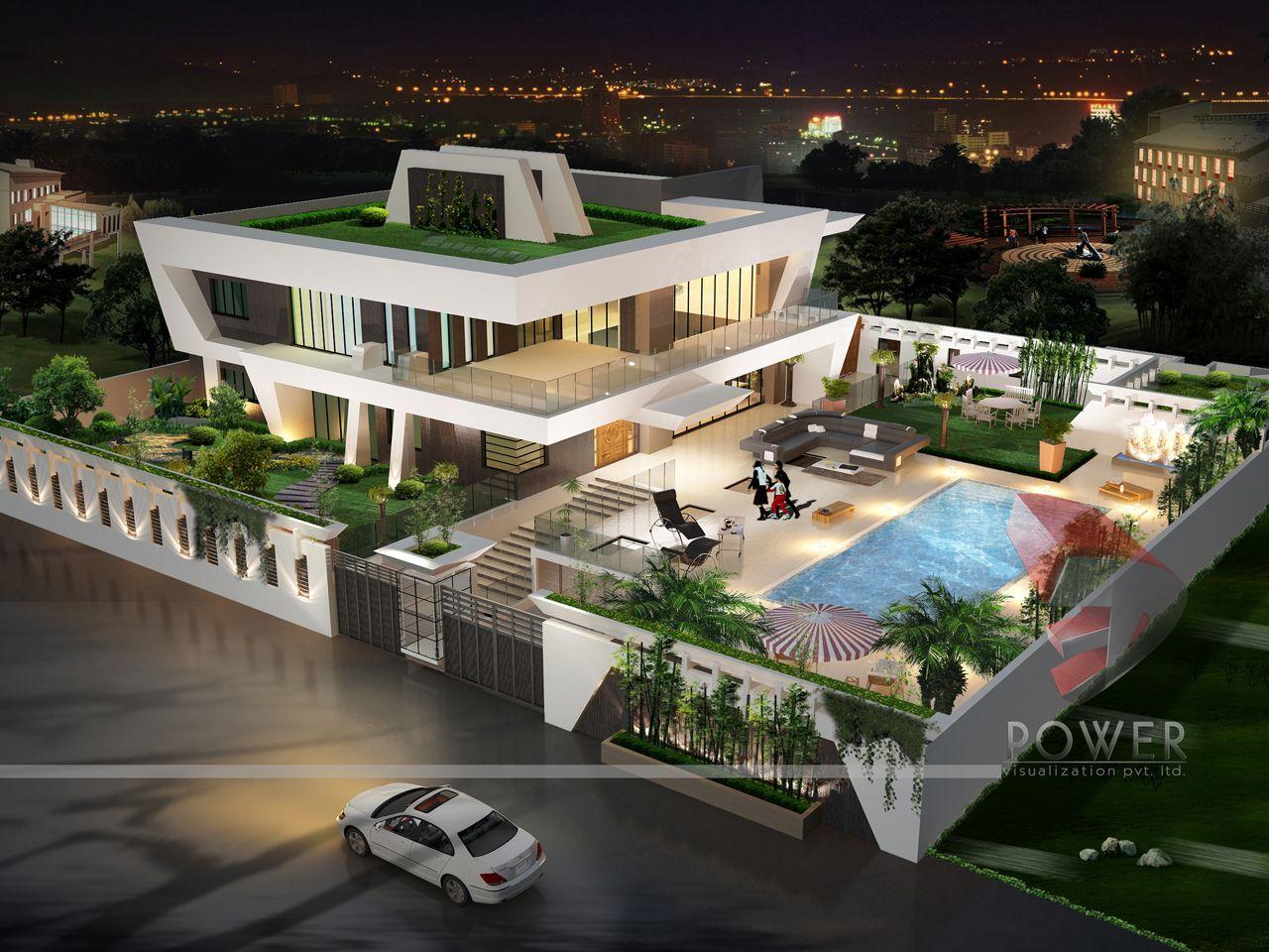 Modern India Mansions! #India | Bungalow design, Modern ...