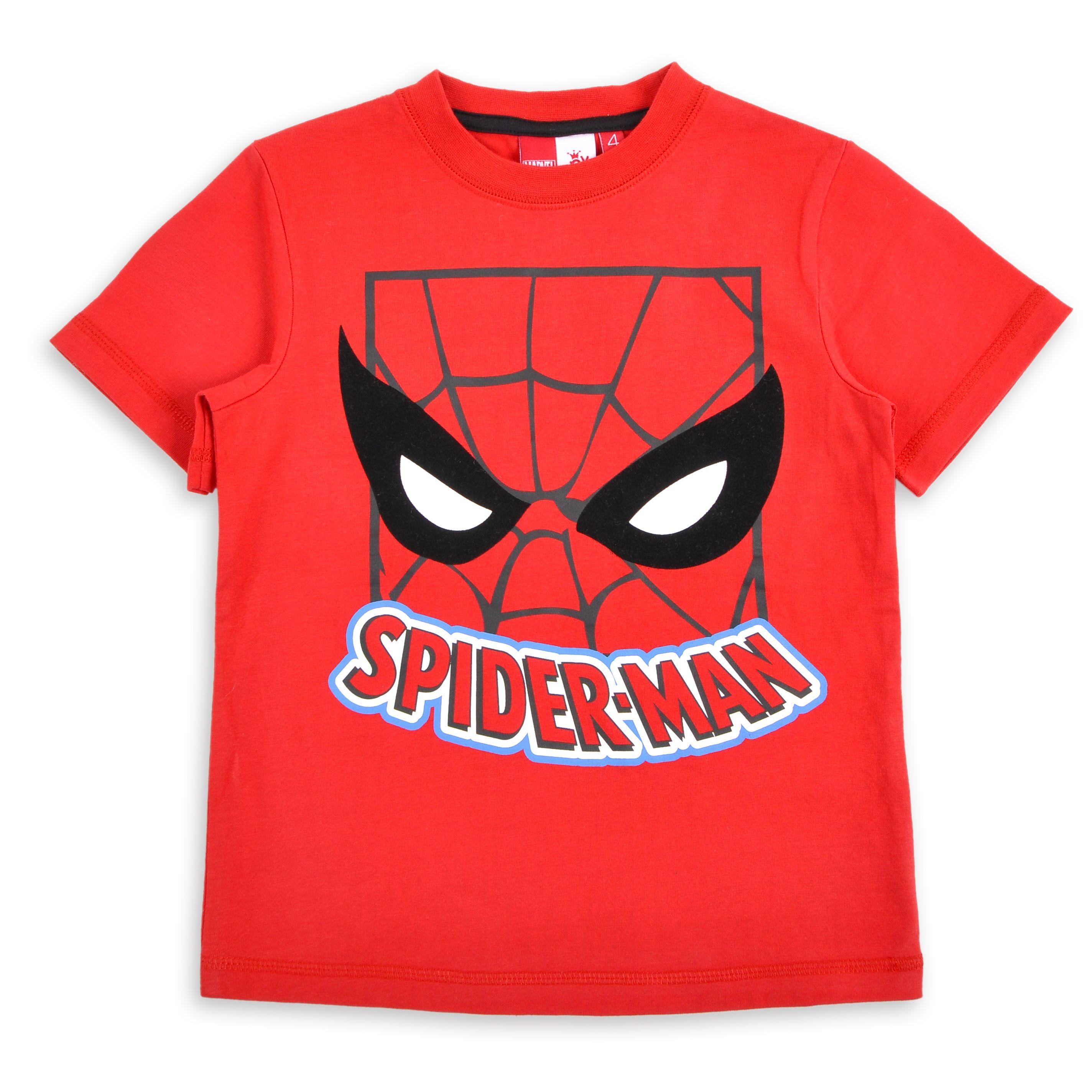 9b3353f3c Franela EPK para niño roja con estampado del superheroe Spiderman ...