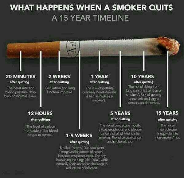 Crazy how long it takes to repair the damage smoking can cause