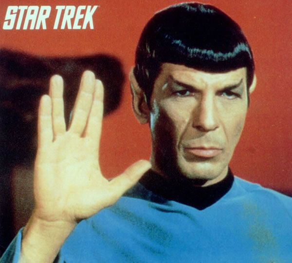 Totally crushed on Spock as a kid! What am I talking about? I still do!