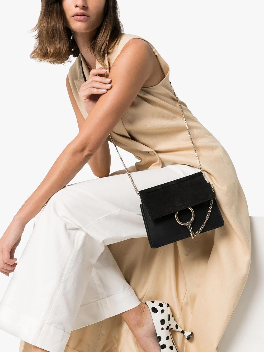 Chloe Mini Faye Chain Bag Farfetch Mini Chain Bag Bags Short Cocktail Dress