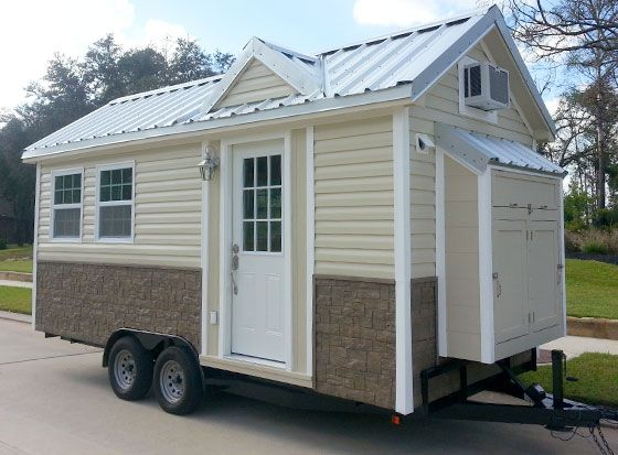 The Americana Tiny House From Tiny House Company   Premade Tiny Home.