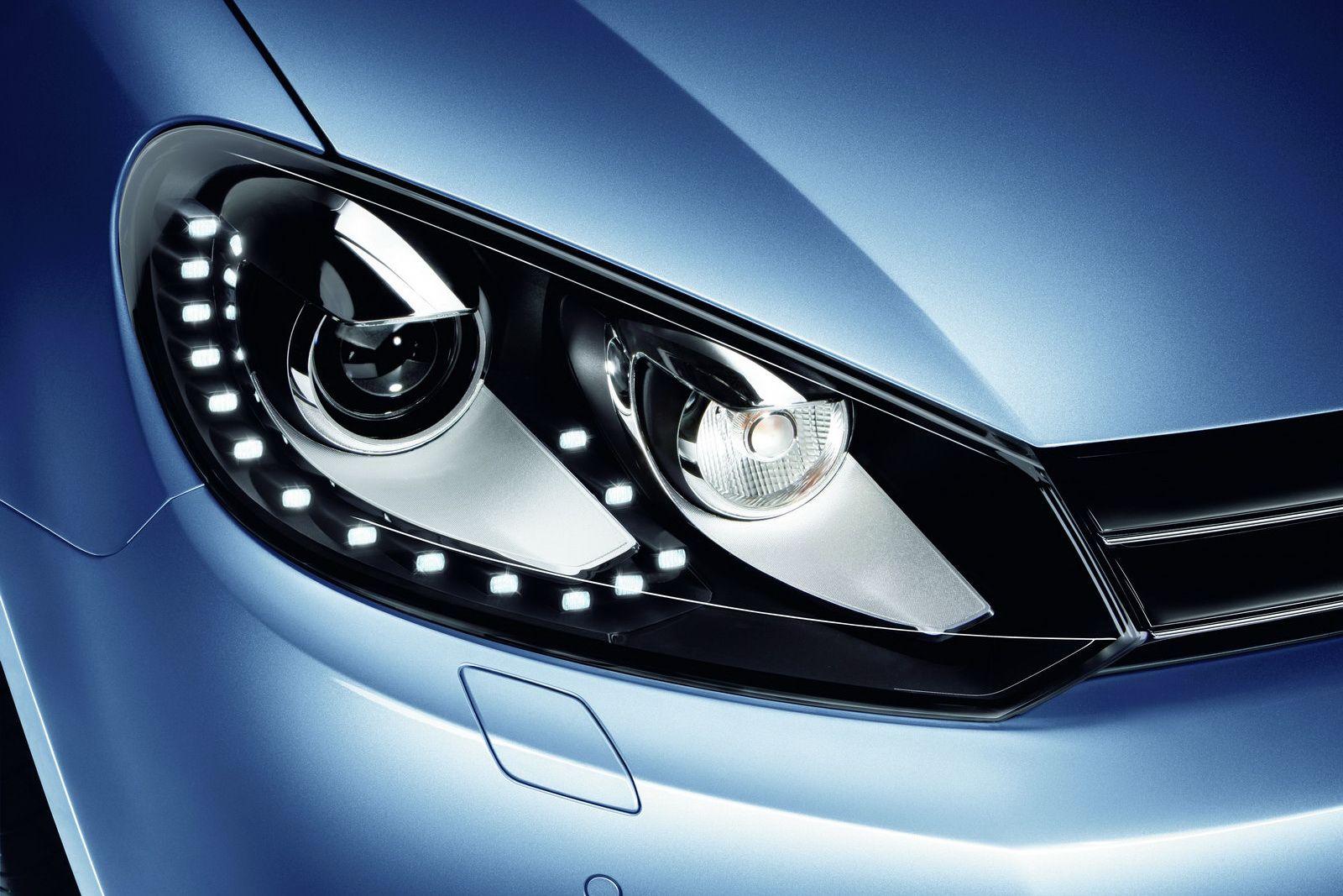 Mk6 Golf OEM LED DRL Headlights | VDub | Volkswagen golf