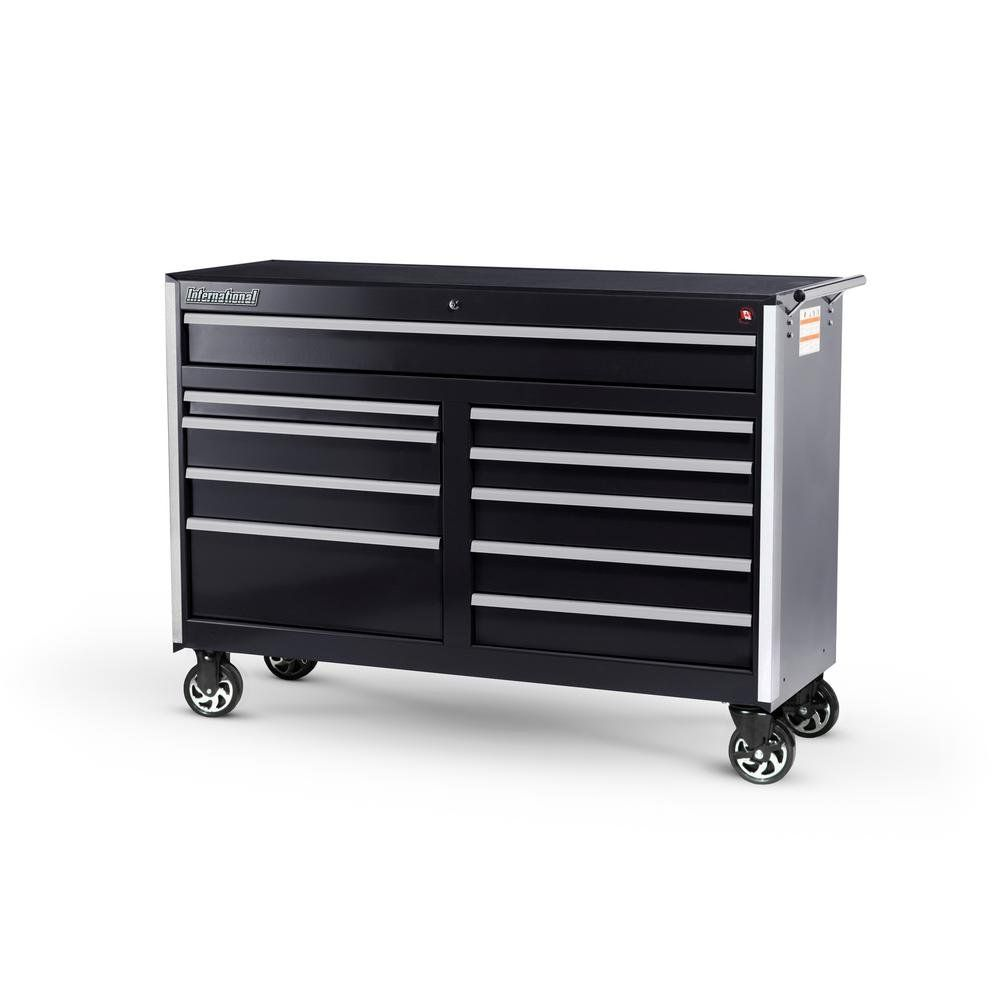 International Tech Series 54 In. 10Drawer Roller Cabinet