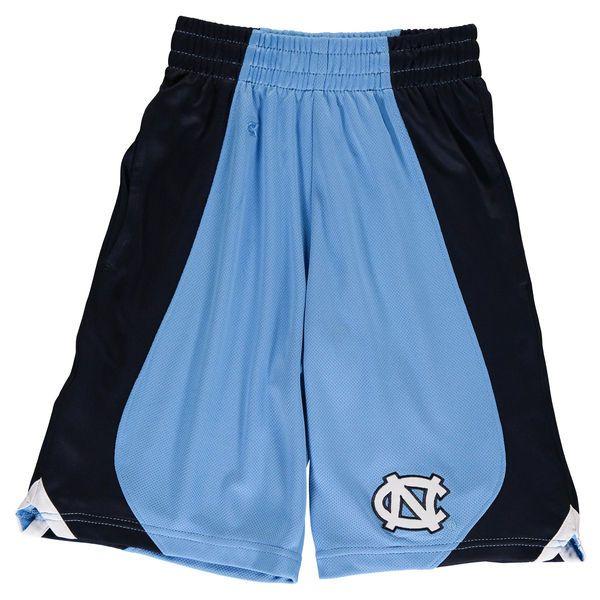 North Carolina Tar Heels Colosseum Youth Flagged Shorts -Carolina ...
