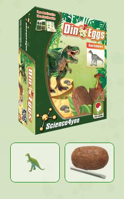 DINO EGGS - SAUROLOPHUS  Descobre: - O habitat dos dinossauros - O que é a paleontologia - Que tipos de fossilização existem - As causas de extinção dos dinossauros - Características e curiosidades destes fantásticos seres pré-históricos