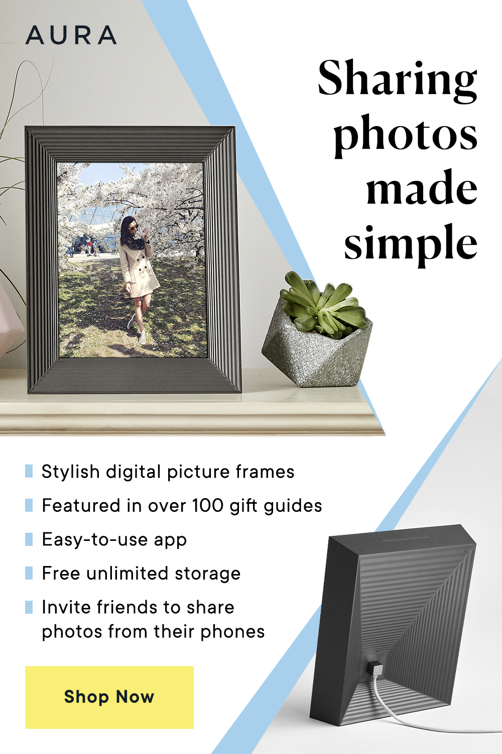 Aura Frames | The Best Digital Picture Frame
