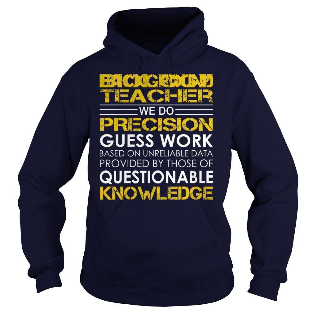 Biology Teacher We Do Precision Guess Work Knowledge T-Shirts, Hoodies. Check Price Now ==► https://www.sunfrog.com/Jobs/Biology-Teacher--Job-Title-Navy-Blue-Hoodie.html?id=41382