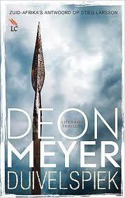 Een bijzonder spannend boek van een Zuid-Afrikaans schrijver.  Mooi als alternatief voor alle Scandinavische, Nederlandse en Amerikaanse thrillers.