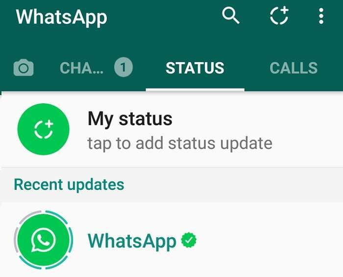 How To View The New Whatsapp Status Of Others Without