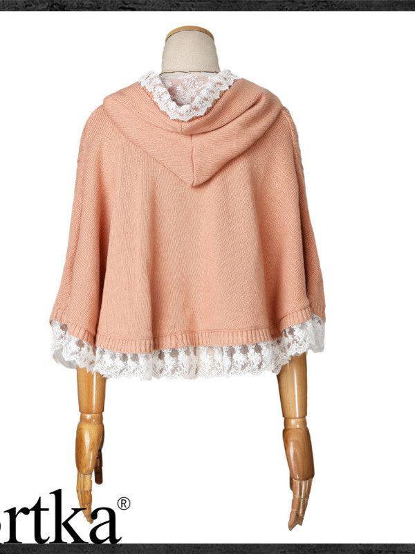 fairy tale knitted lace cape $141 #asianicandy #kawaii #japanese #kstyle #asianfashion #sweet #style #mori