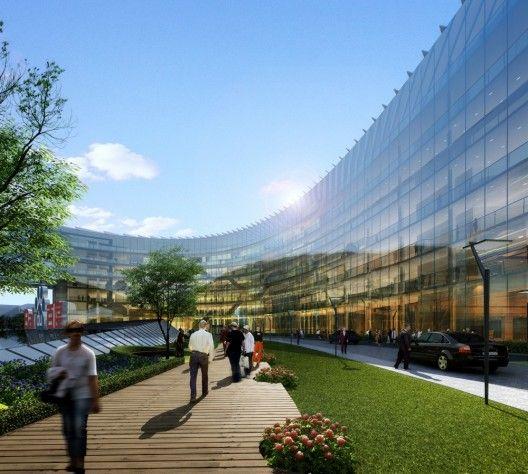 Campus de Ciências e Tecnologia de Baidu / ZNA Architects