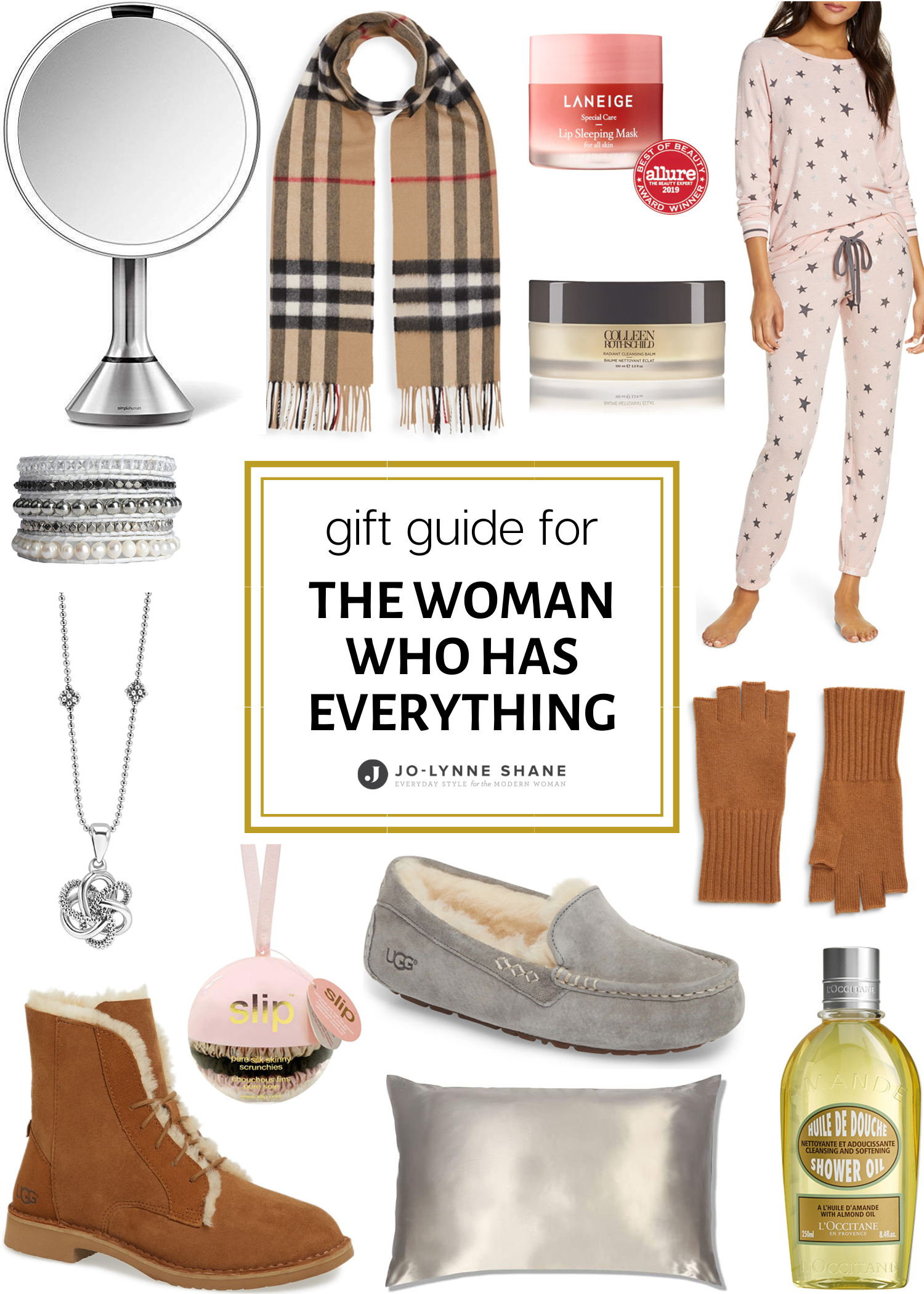 Holiday Gift Ideas for the Woman Who Has Everything