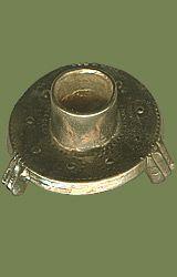 Brass candlestick circa 1300