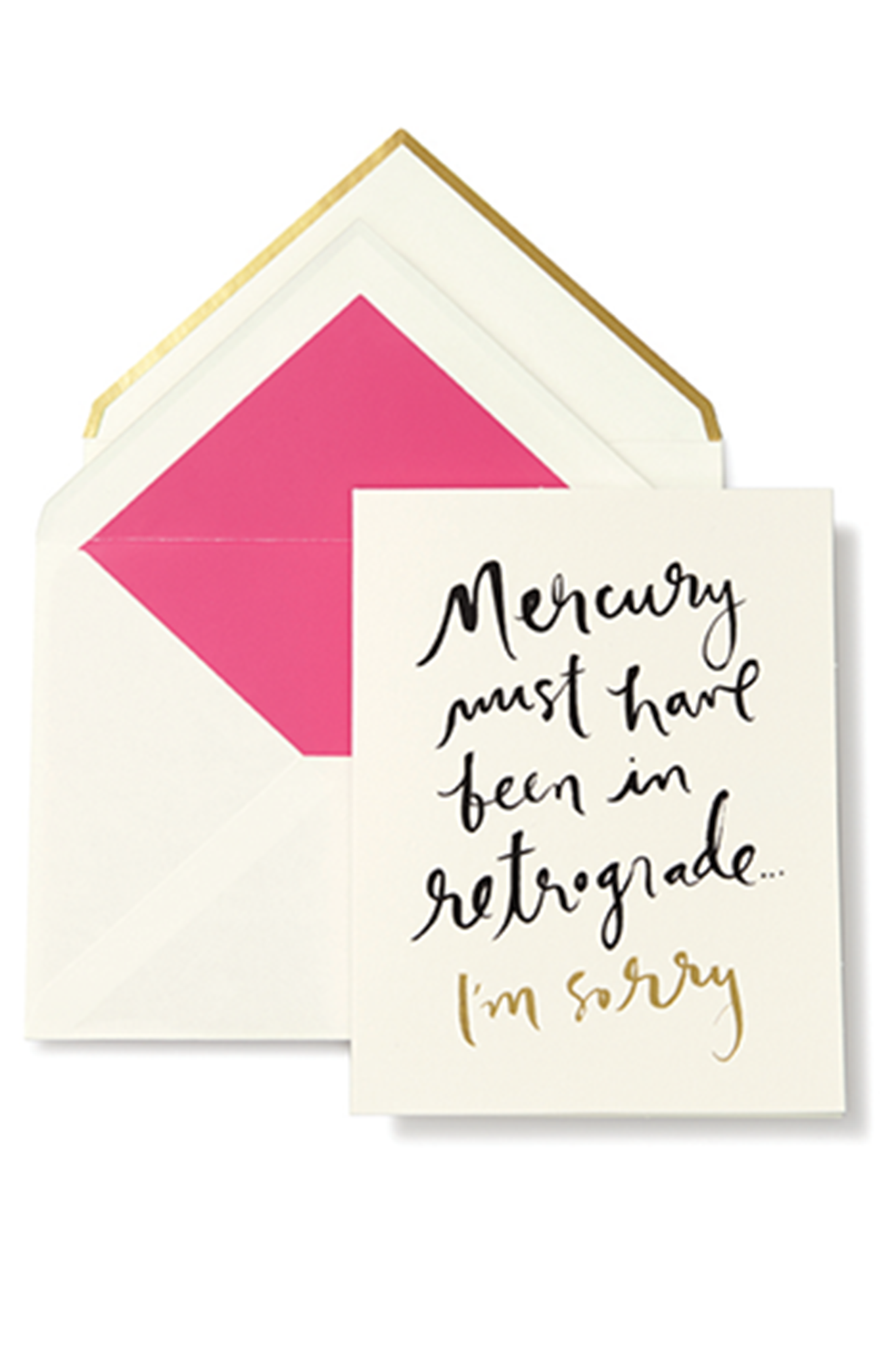 Kate Spade New York Greeting Card Mercury