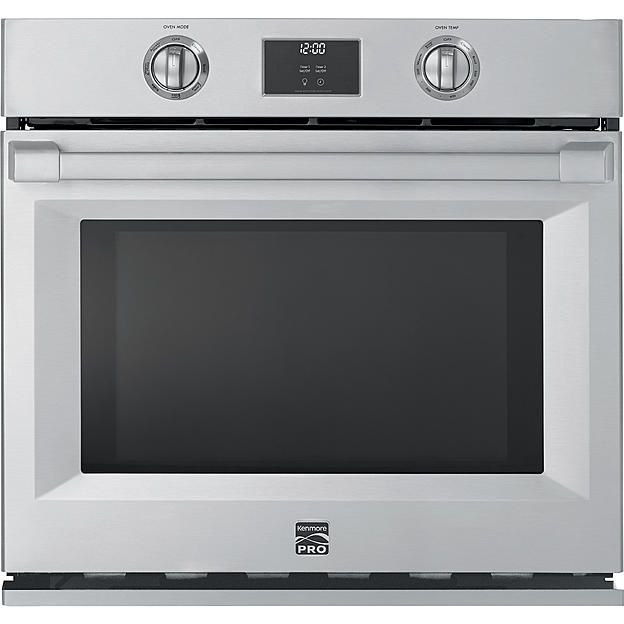 """Kenmore Pro 30"""" Electric Self-Clean Single Wall Oven"""