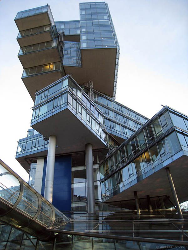 Nord LB Building, Hannover, Germany   55 Strange Buildings Of The World.  Unique Architecture ...