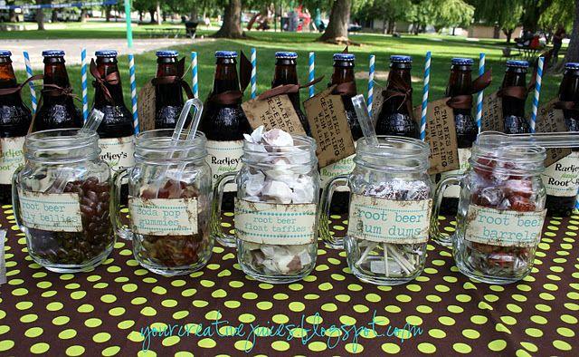 Root beer party idea ideas! Pinterest