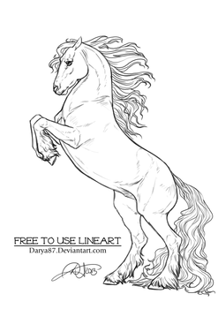 Deviantart More Collections Like Friesian Horse By Requay