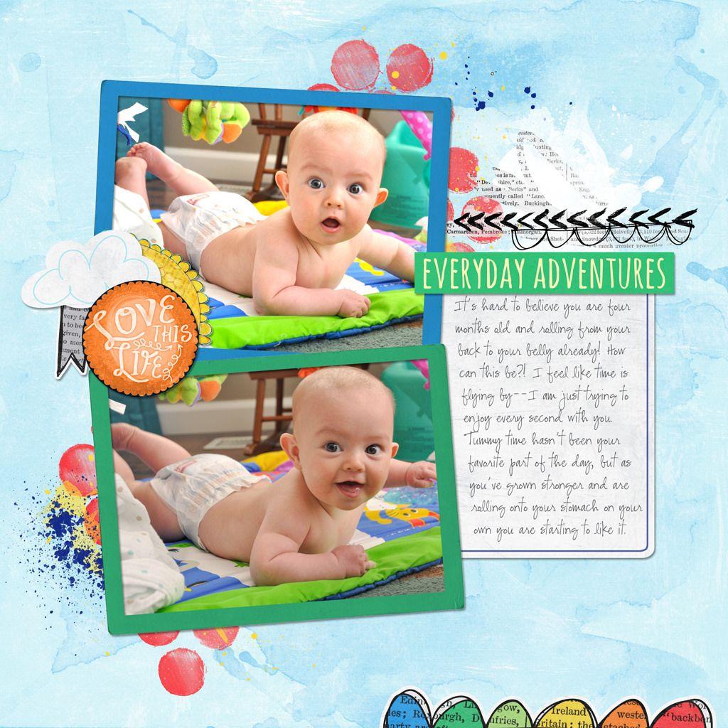 Scrapbook ideas baby milestones - Baby Milestones