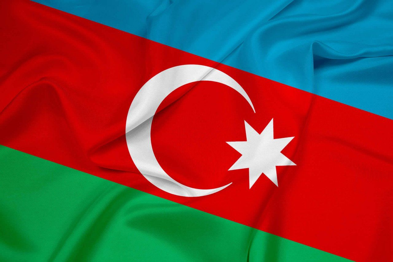 Flag Day In Azerbaijan In 2020 By Office Holidays Azerbaijan Flag Flag Azerbaijan