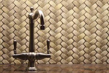 Braided Basket Weave Tile Backsplash