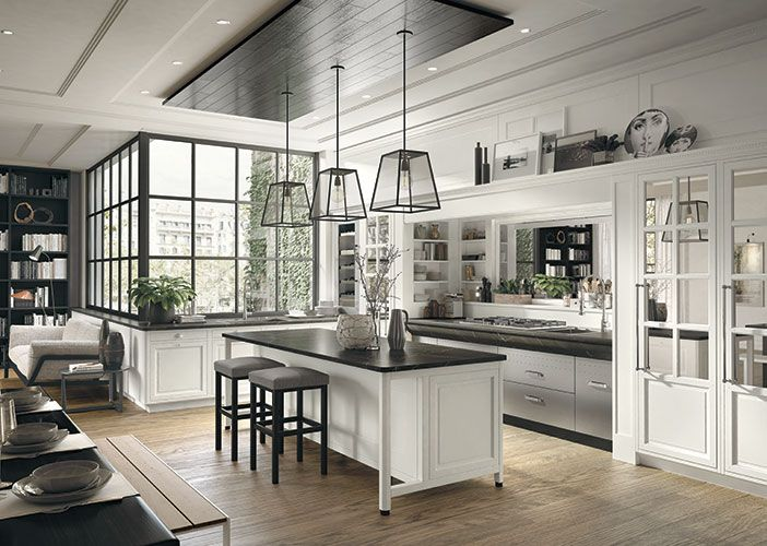 Bellagio, la cucina classica ed elegante firmata Marchi Cucine ...