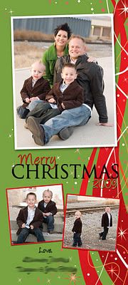 Kara's Koncepts Graphic Design - Custom Christmas Holiday Greeting Cards