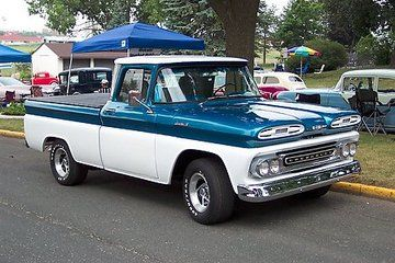 1961 Chevy Apache 10 Custom Short Wheel Base Fleetside - Antique ...