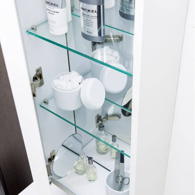 M2 Tall Mirror Medicine Cabinet Provides Lots Of Storage With
