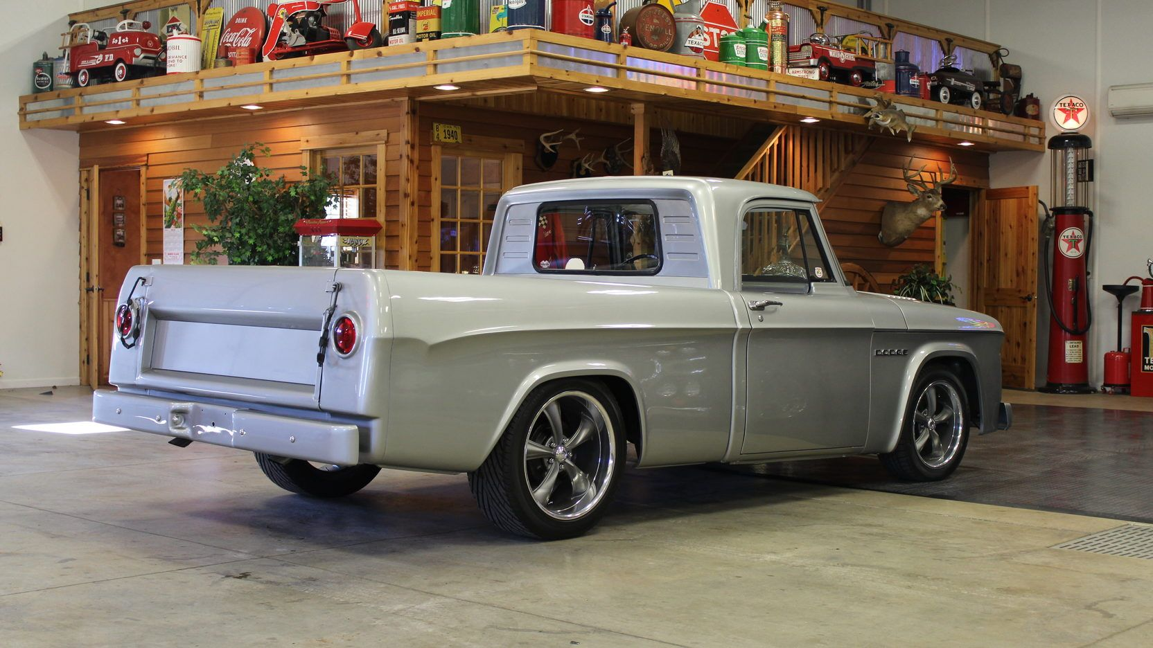 1962 dodge d100 sweptline resto mod pickup 3 print. Black Bedroom Furniture Sets. Home Design Ideas