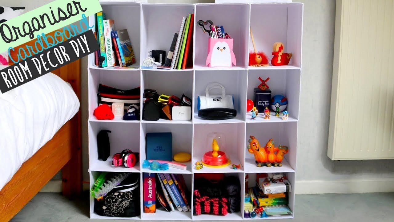 Room Decor No 1] DIY cardboard project : organiser | MUEBLES DE ...