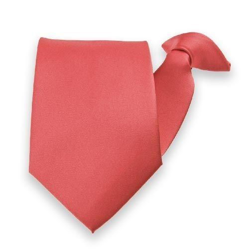 coral ties for groomsmen.