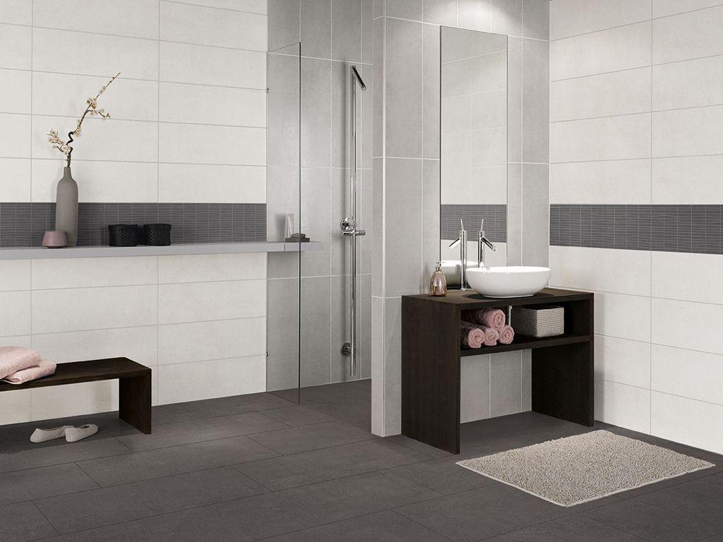Ihre Badezimmer Weiße Fliesen Ideen Foto